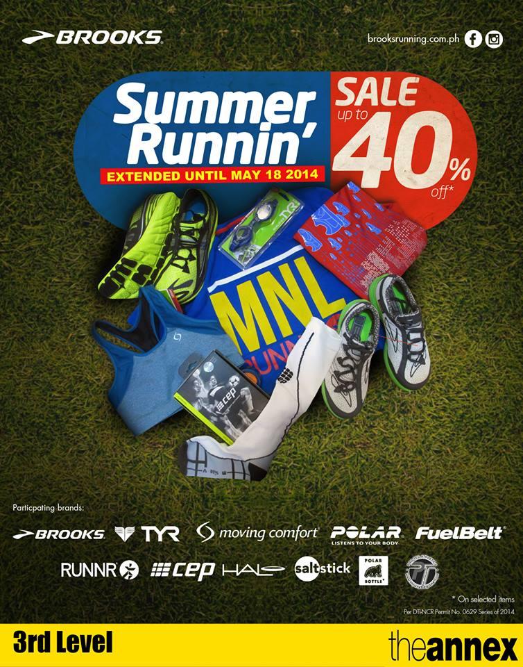 Brooks Summer Runnin Sale May 2014