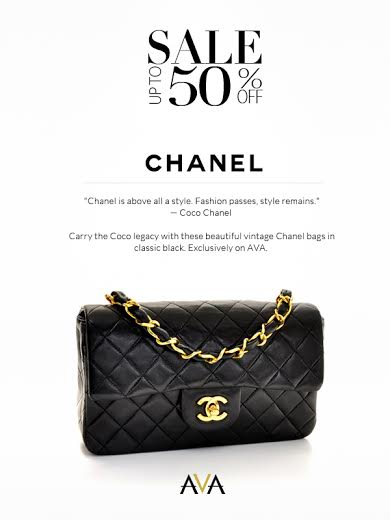 Vintage Chanel Bags Sale @ AVA.ph May 2014