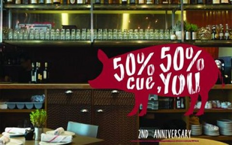 Cue Modern Barbecue 2nd Anniversary Promo May 2014