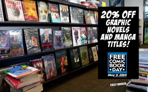 Fully Booked Free Comic Book Day May 2014
