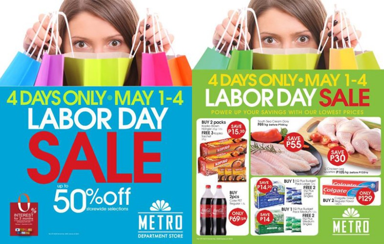 Metro Department & Supermarket Labor Day Sale May 2014
