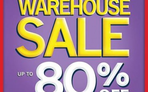 National Book Store Warehouse Sale @ NBS Cubao May 2014