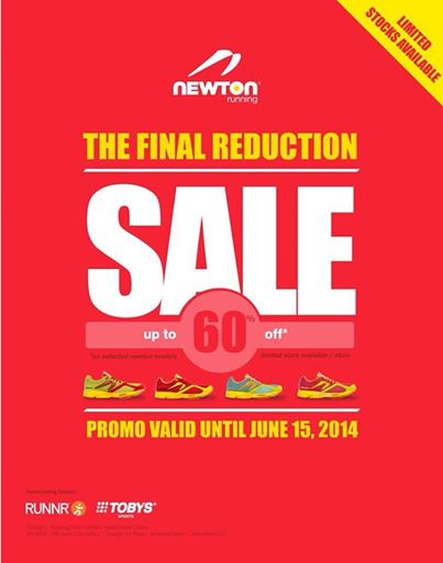 Newton Running The Final Reduction Sale May - June 2014