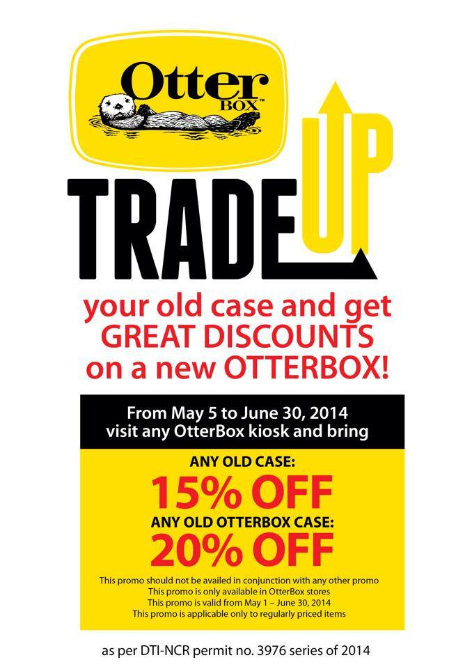 OtterBox Trade Up Promo May - June 2014