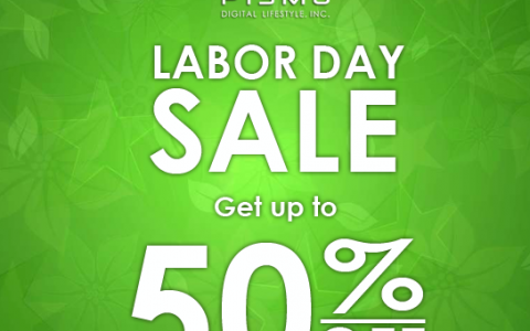 Pismo Digital Labor Day Sale May 2014