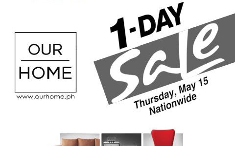 Our Home 1-Day Sale for SMAC Members May 2014