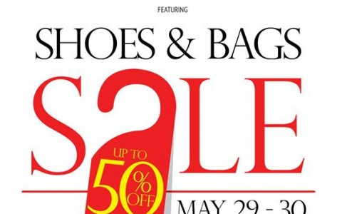 Shoes & Bags Sale @ Glorietta Activity Center May 2014