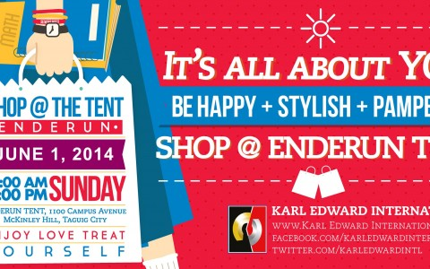 Shop @ Enderun Tent June 2014