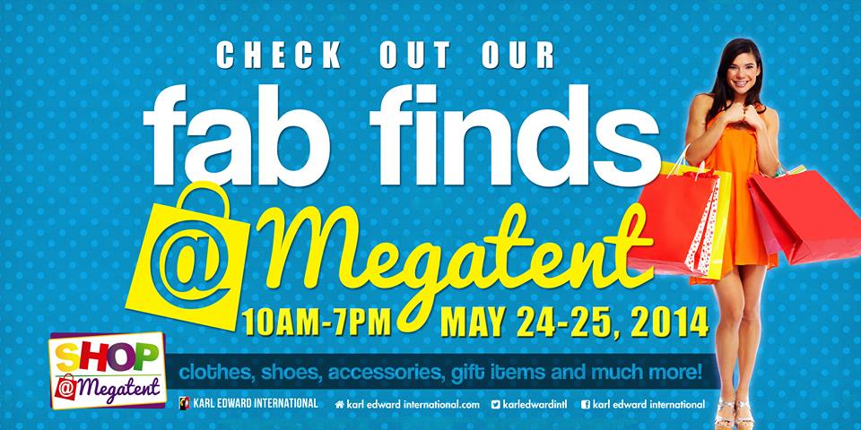 Shop @ Megatent May 2014