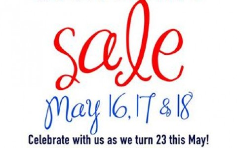 Sta. Lucia Mall Anniversary Sale May 2014