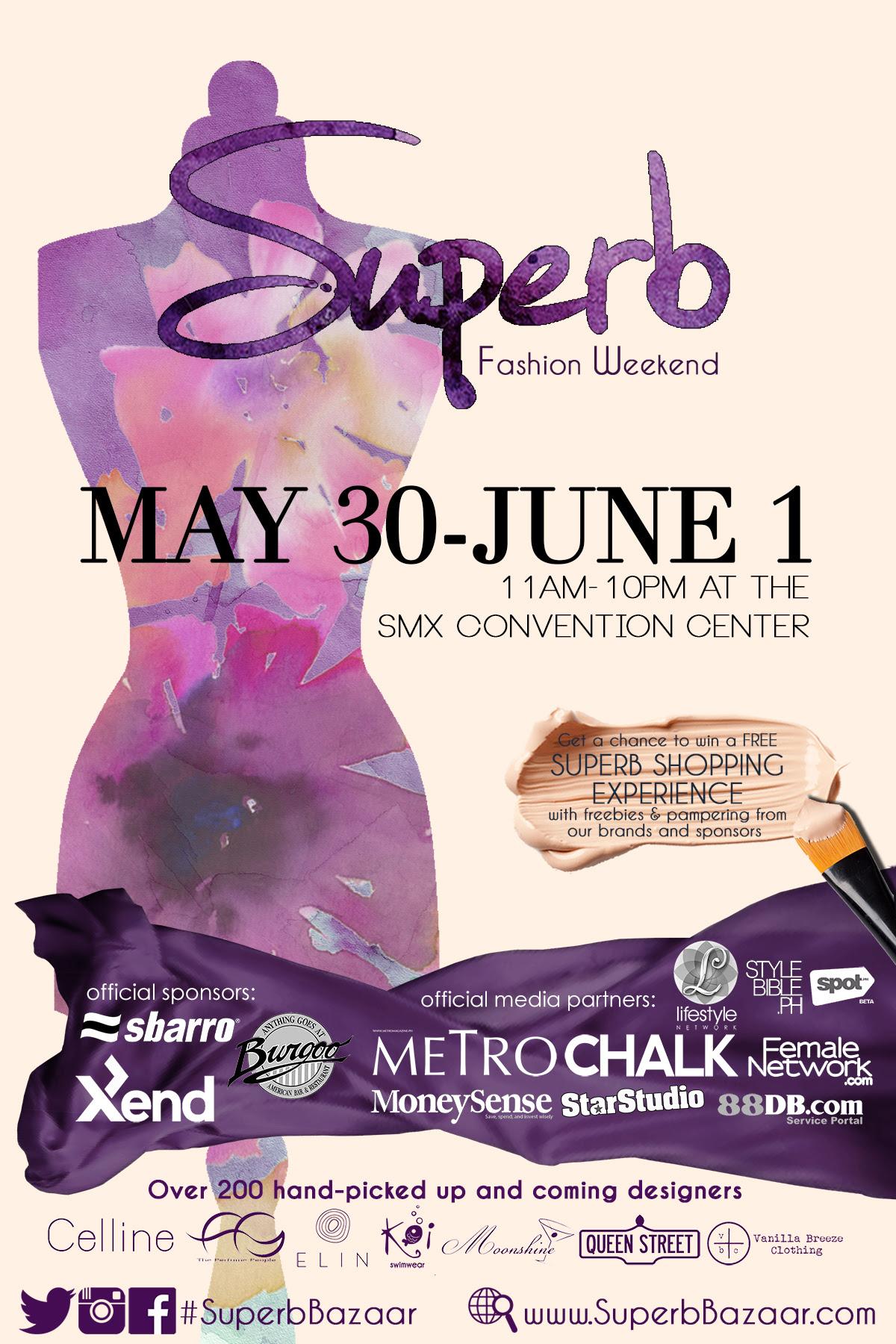 Superb Bazaar @ SMX Convention Center May - June 2014
