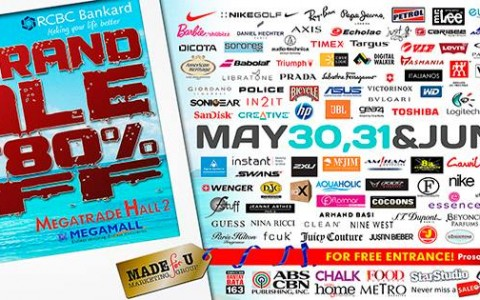 The Big Brand Sale @ SM Megatrade Hall May - June 2014
