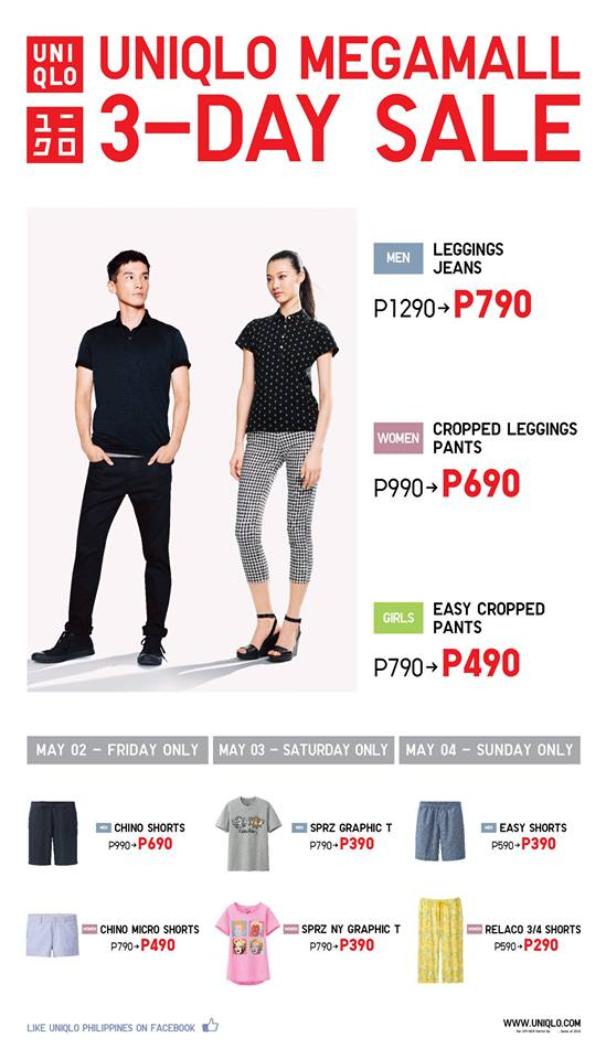 Uniqlo Sale @ SM Megamall May 2014