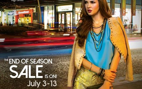 Bonifacio High Street End of Season Sale July 2014