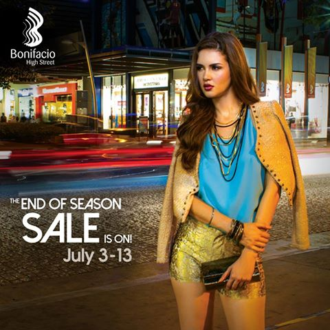 Bonifacio High Street End of Season Sale July 2014