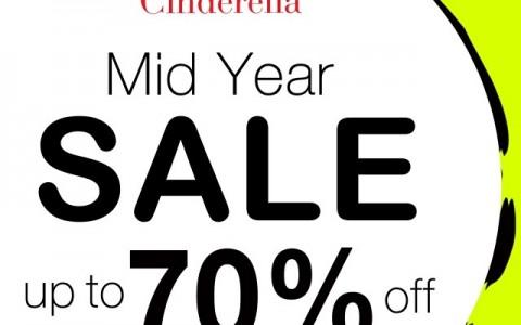 Cinderella Mid-Year Sale June - July 2014