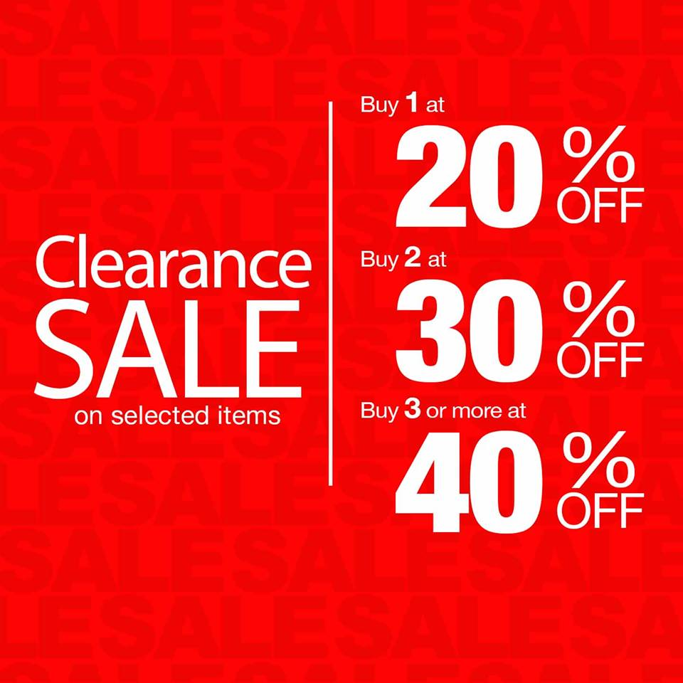 Giordano Clearance Sale June - July 2014