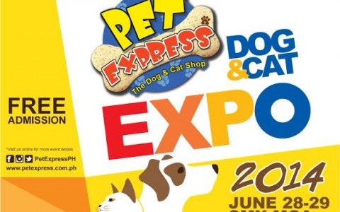 Pet Express Dog & Cat Expo @ SMX Convention Center June 2014