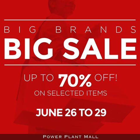 Power Plant Mall Big Brands Sale June 2014