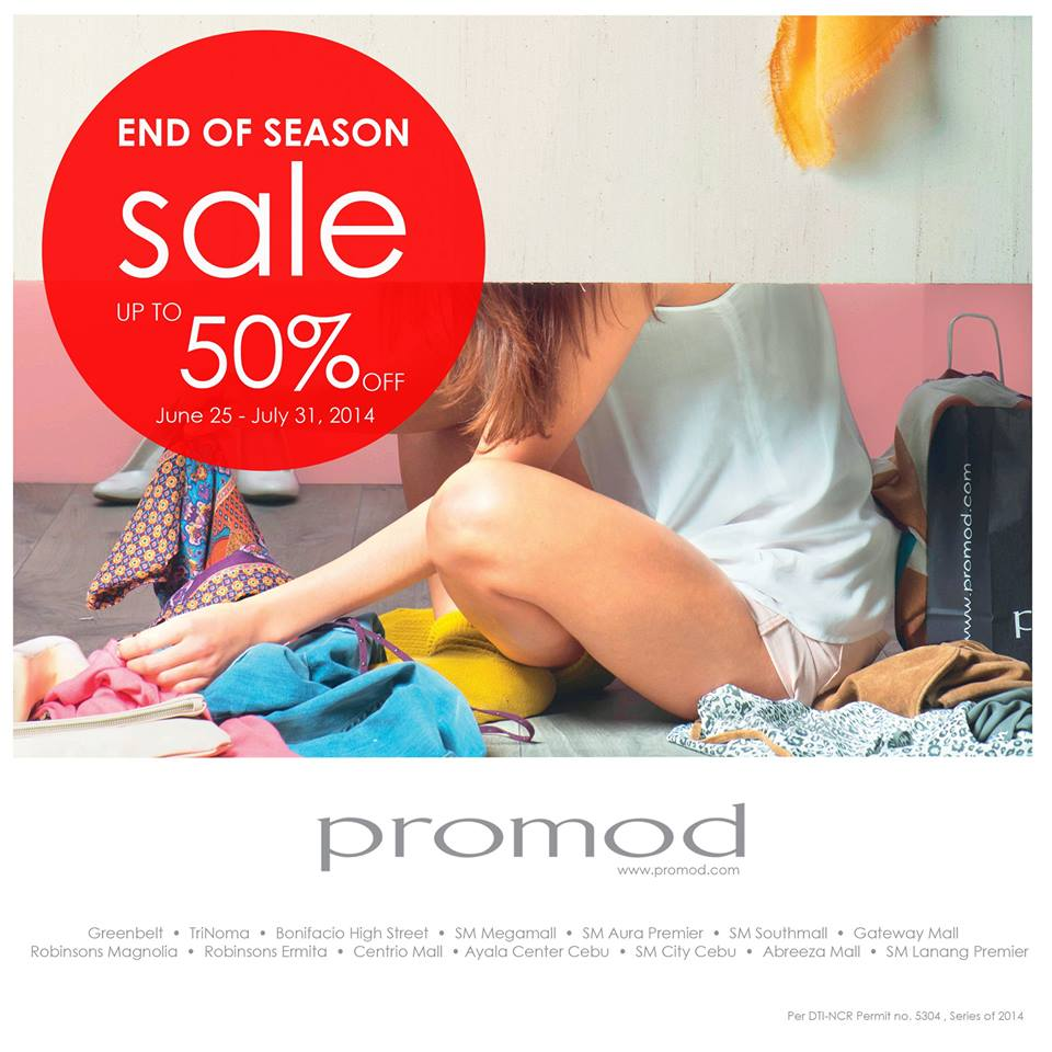 Promod End of Season Sale June - July 2014