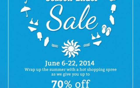 Shangri-La Plaza Mall Ultimate Season Ender Sale June 2014