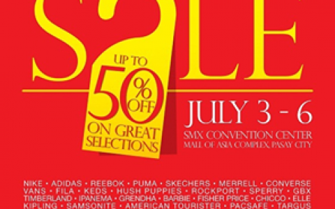 Shoes & Bags Sale @ SMX Convention Center July 2014