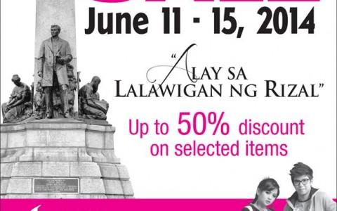 Sta. Lucia Mall Sale June 2014