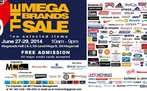 The Mega Brands Sale @ SM Megatrade Hall June 2014