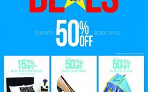 The SM Store Independence Day Deals June 2014