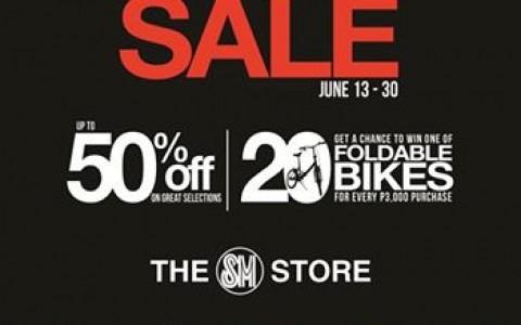 The SM Store Men's Shoes Sale June 2014