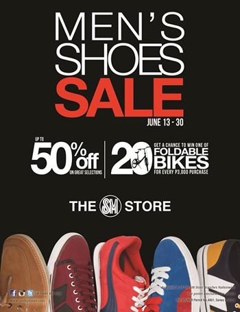 The SM Store Men's Shoes Sale June 2014
