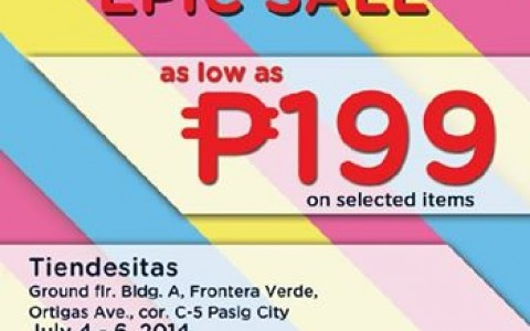 Crocs Epic Sale @ Tiendesitas July 2014