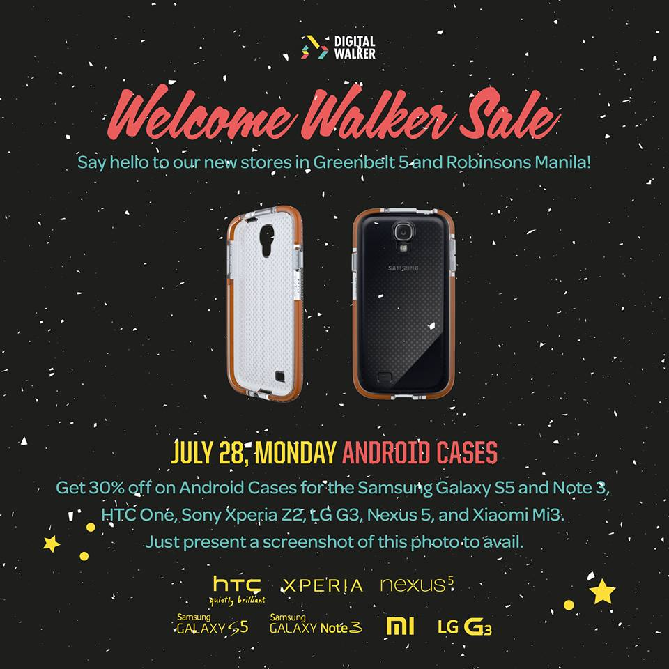 Digital Walker Welcome Walker Sale - Android Cases