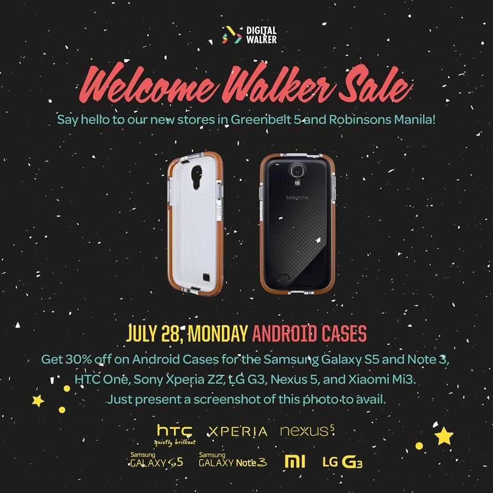 Digital Walker Welcome Walker Sale - Android Cases