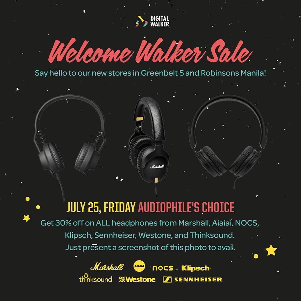 Digital Walker Welcome Walker Sale - Audiophile's Choice