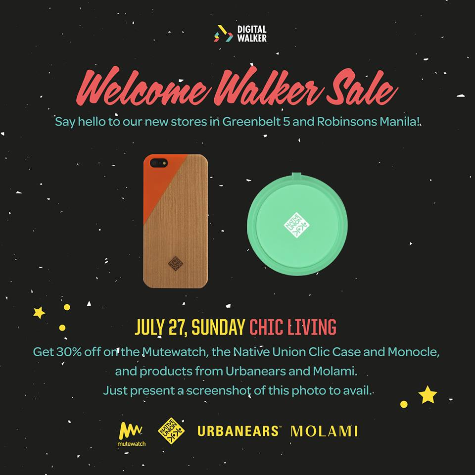 Digital Walker Welcome Walker Sale - Chic Living