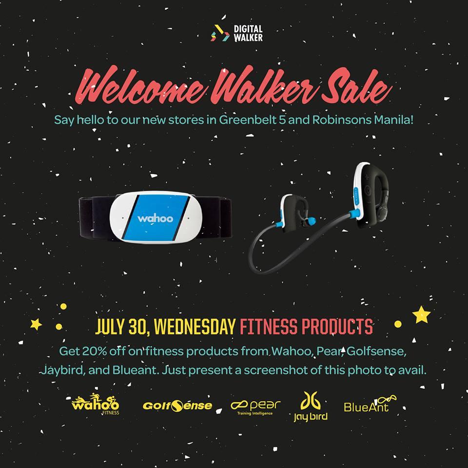 Digital Walker Welcome Walker Sale - Fitness Products