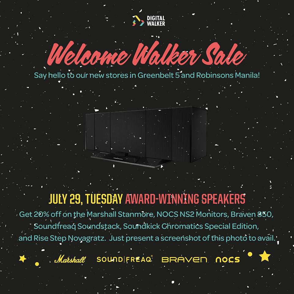 Digital Walker Welcome Walker Sale - Speakers