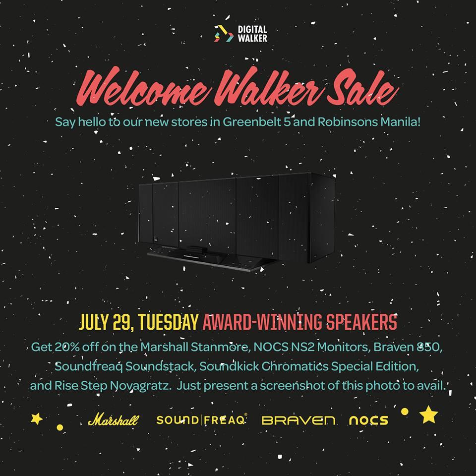 Digital Walker Welcome Walker Sale - Speakers