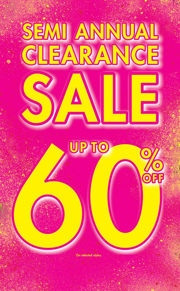 La Senza Semi Annual Clearance Sale July 2014