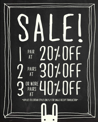 Le Bunny Bleu End of Season Sale July 2014