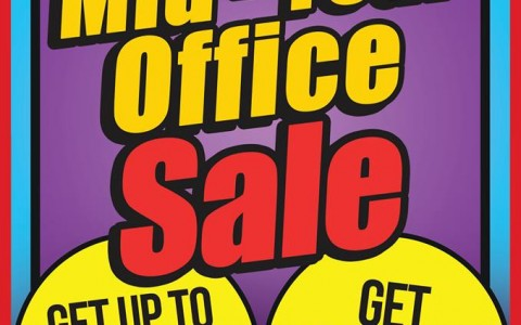 National Book Store Mid-Year Office Sale July - August 2014