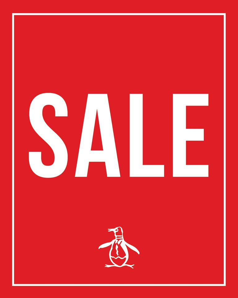 Original Penguin End of Summer Sale July - August 2014