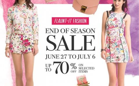 SM City North Edsa End of Season Sale June - July 2014