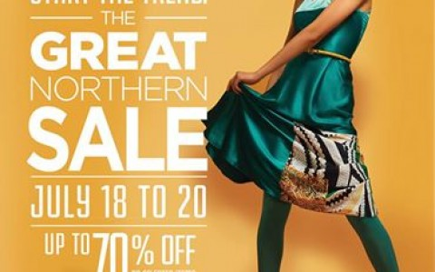 SM City North Edsa The Great Northern Sale July 2014