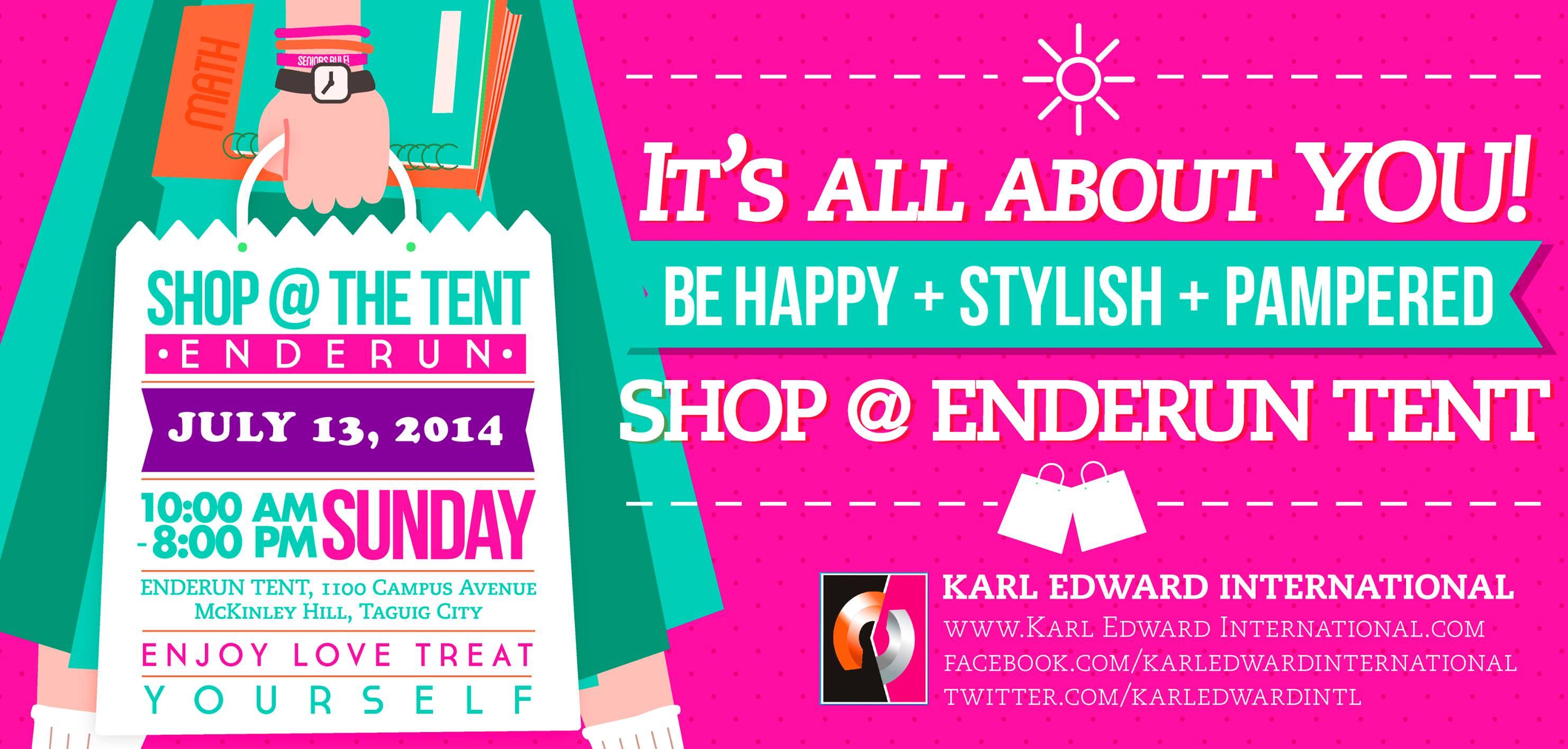 Shop @ Enderun Tent July 2014