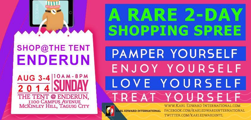 Shop @ Enderun Tent August 2014