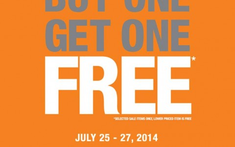 Topman Buy 1 Get 1 Free Promo July 2014