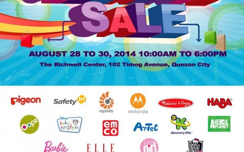 Babies & Kids Clearance Sale @ The Richwell Center August 2014