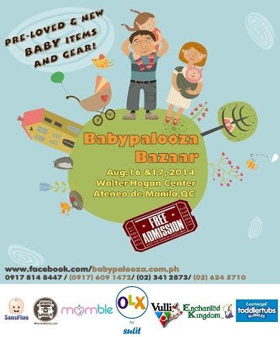 Babypalooza Bazaar @ Ateneo De Manila University August 2014